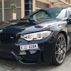 Rent BMW M4 2018 in Dubai