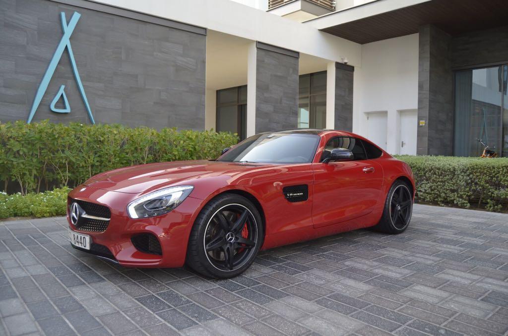 Rent Mercedes AMG GT