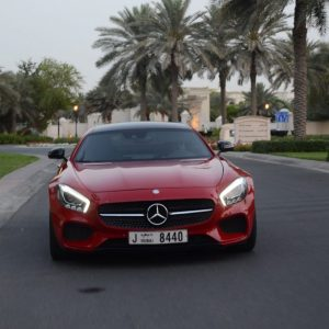 Rent Mercedes AMG GT S in Dubai