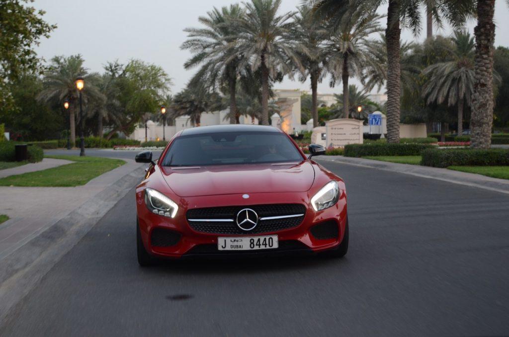 Rent Mercedes AMG GT S in Dubai