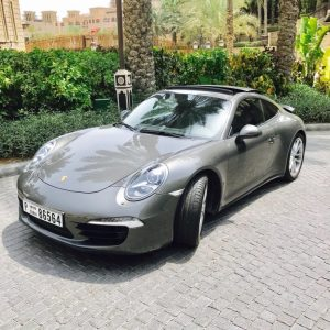 Porsche 911 Carrera S in Dubai at MTN Rent in Dubai Porsche 911 Carrera S