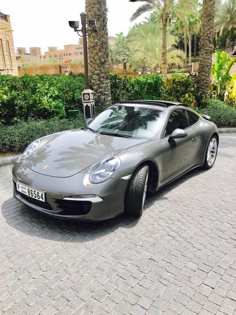 Porsche 911 Carrera S in Dubai at MTN Rent in Dubai Porsche 911 Carrera S