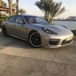 Rent Porsche Panamera GTS 2017 in Dubai