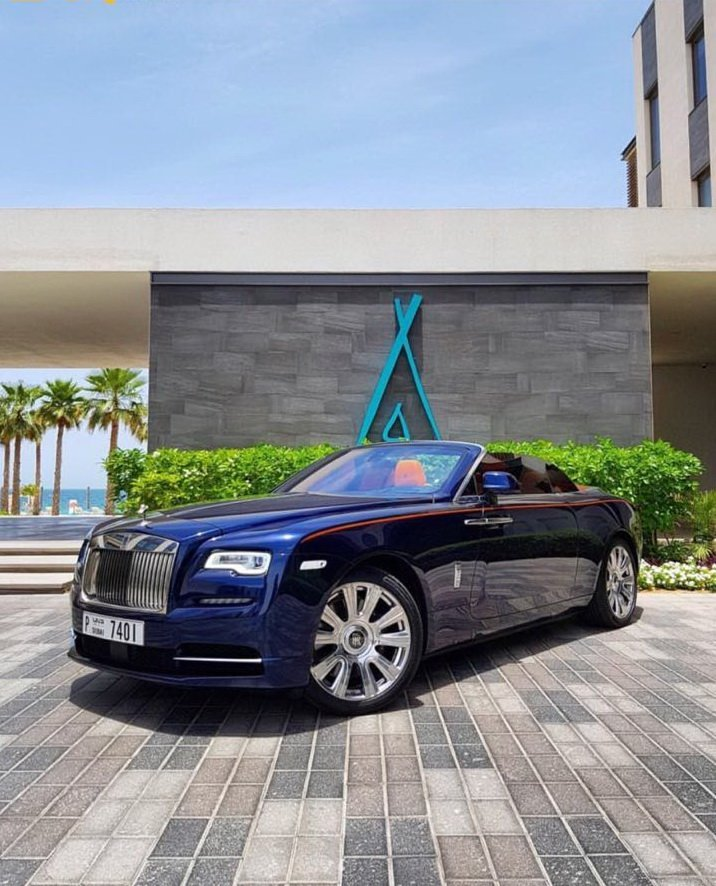 Rolls Royce Dawn in Dubai