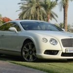 Bentley Continental GT in Dubai