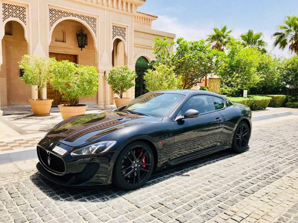 Rent Maserati Granturismo in Dubai