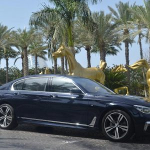 BMW 740 M 2016 for rent in Dubai