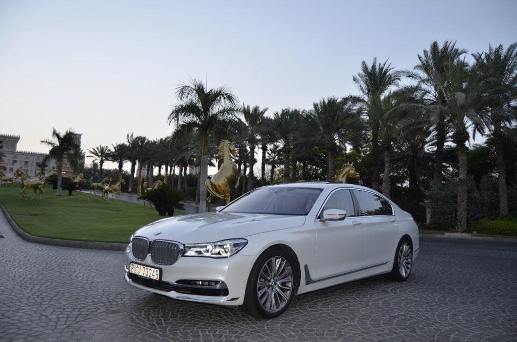 Rent BMW 740 LI in dubai