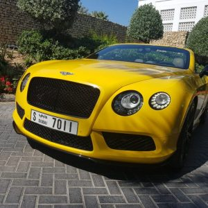 Rent Bentley GTC 2017 in Dubai