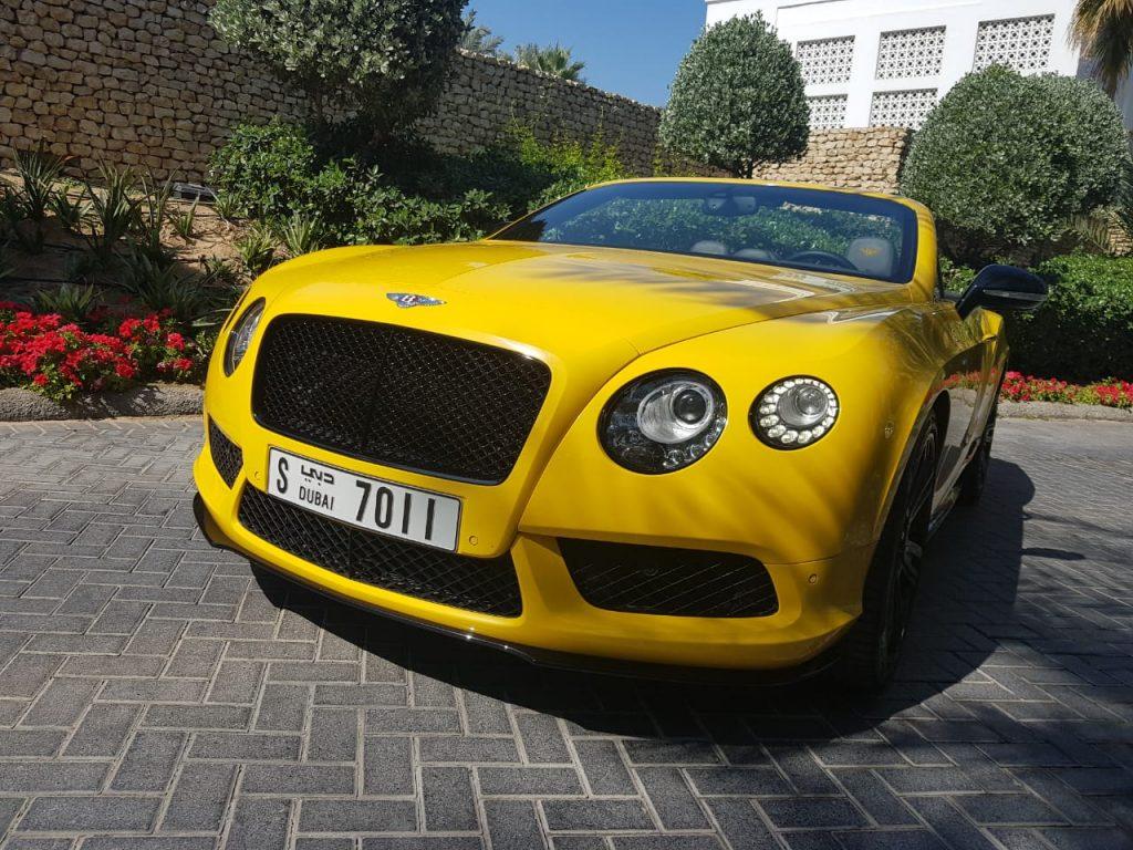 Rent Bentley GTC 2017 in Dubai