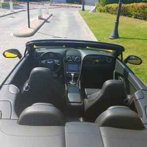Rent Bentley GTC for rent