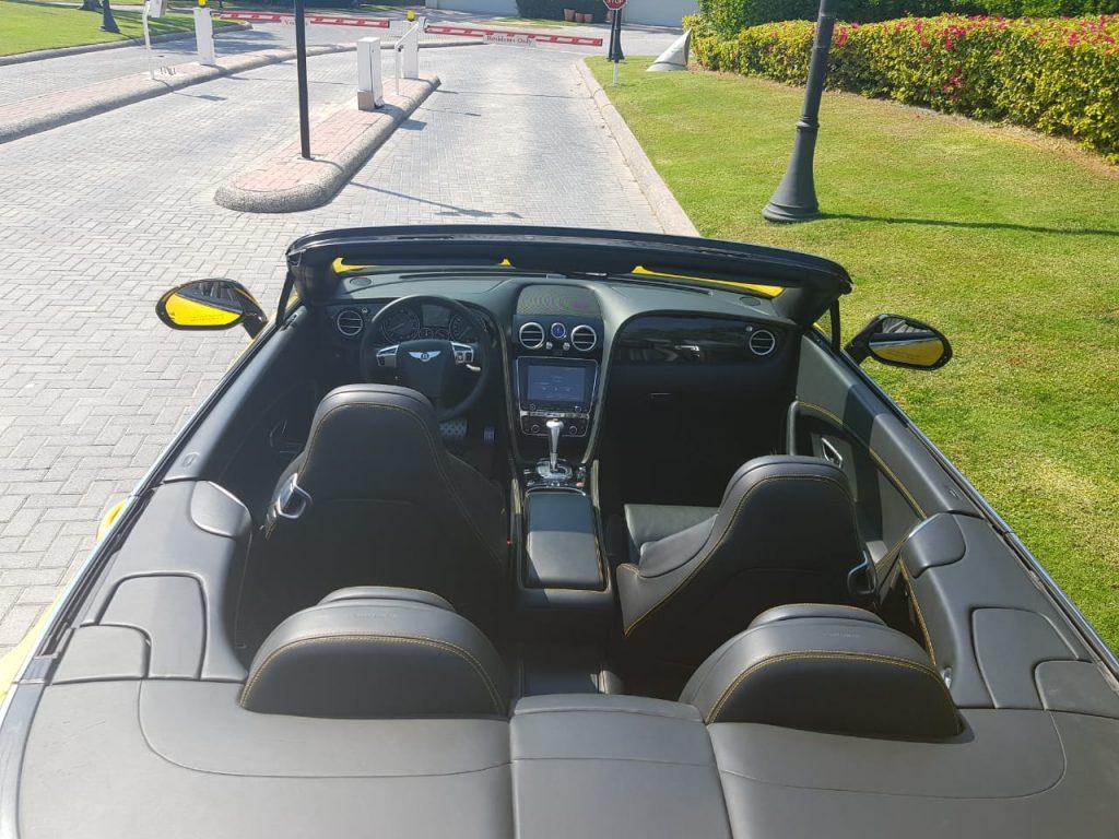 Rent Bentley GTC for rent