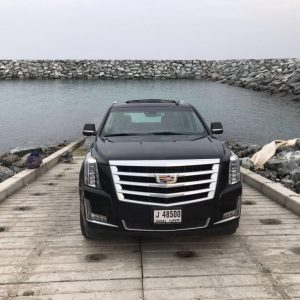 Rent Cadillac Escalade SUV 4x4 in luxury Dubai