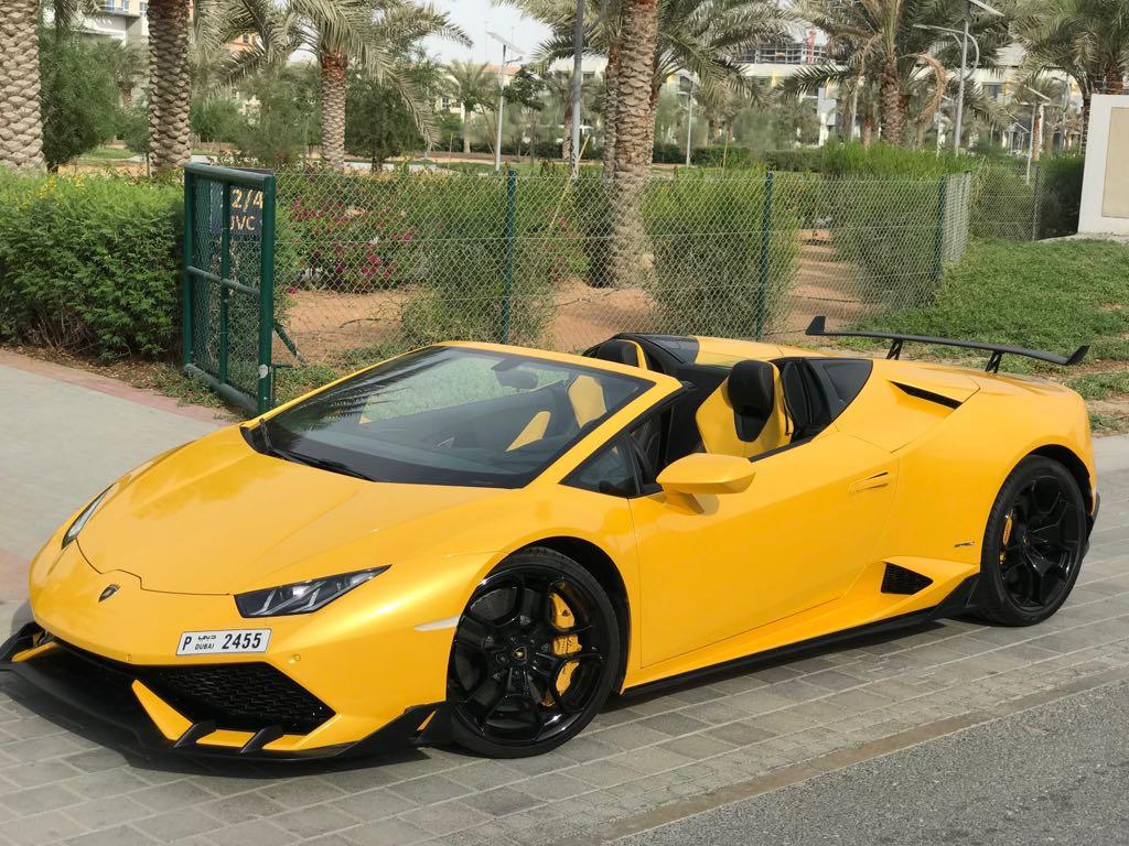 Lamborghini Huracan Spyder 2018
