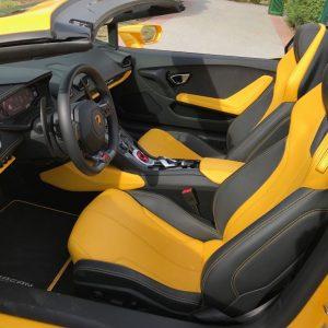 rent Lamborghini Huracan Spider