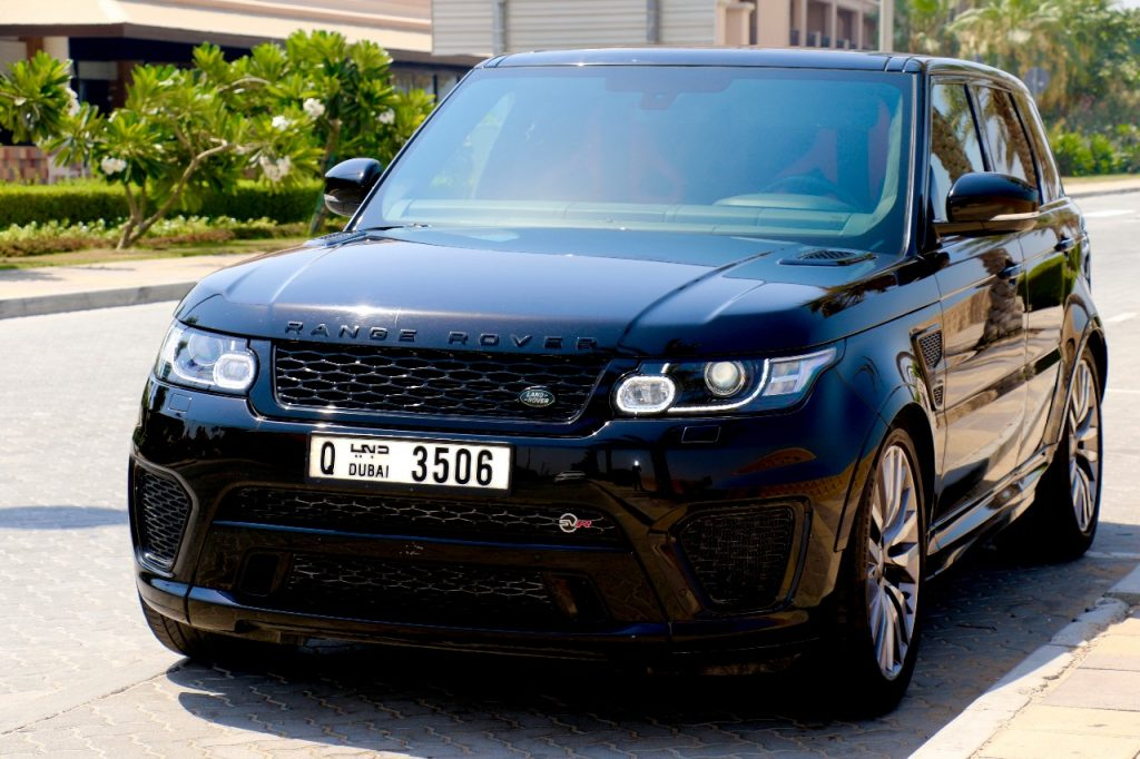 Rent Range Rover SVR in Dubai