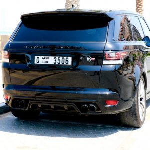 Rent Range Rover SVR 2017 back