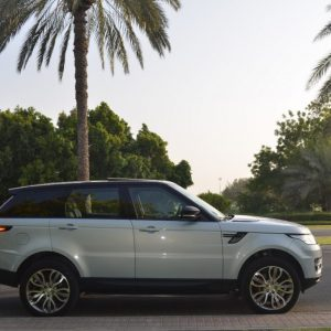 Range Rover Sport Supercharged 2017 for rent in Dubai