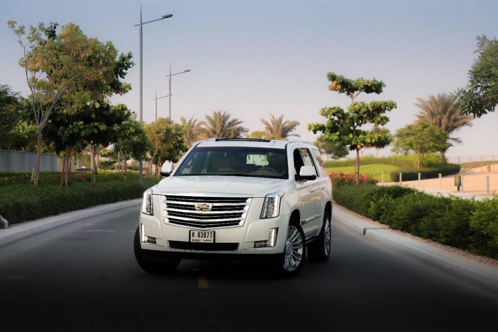 Rent Cadillac Escalade 2018 in Dubai