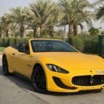 Rent Maserati GranCabrio in Dubai