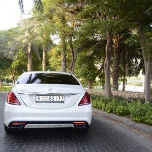 rent Mercedes Benz s500 2016 white