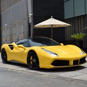 Rent Ferrari 488 GTB in dubai-at MTN rent a car