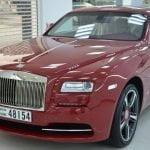 rent Rolls Royce Wraith 2016