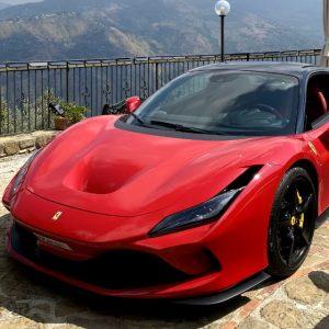 Ferrari F8 Tributo 2019 Red 6000