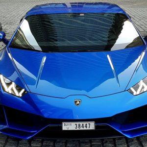 Lamborghini Huracan EVO 2021 - Rent a luxury car