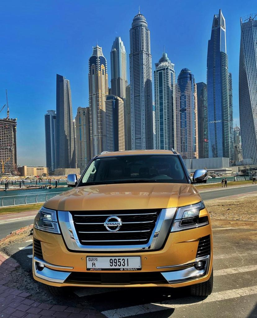 Nissan patrol 2020Price 600 per day