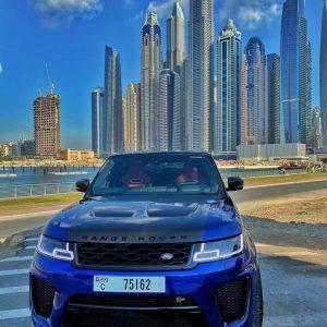 Range Rover SVR 2020 1499 per day