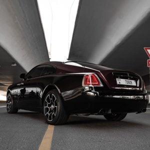 Rolls Royce Wraith 2019 in Dubai to rent