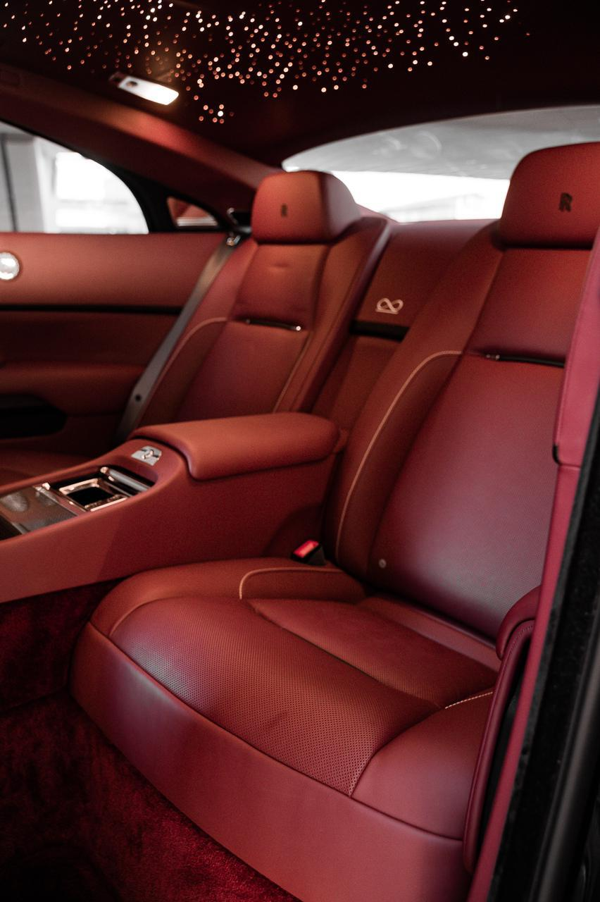 Luxury internal Rolls Royce Wraith 2019 at MTN