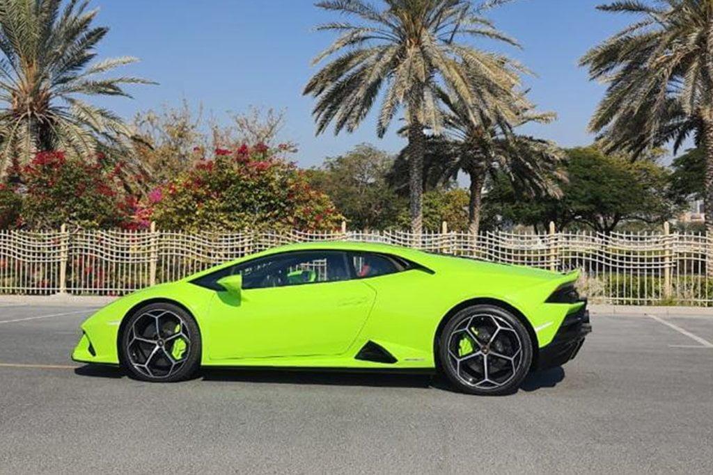 Lamborghini Huracan EVO 2020 in Dubai