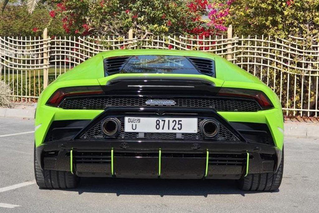 Rent Lamborghini Huracan EVO 2020 in Dubai