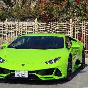 Lamborghini Huracan EVO 2020 rent in Dubai